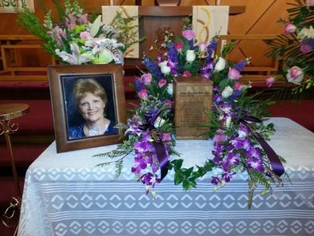 Anna Bjerken funeral