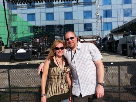 Michelle Stimpson & Bill Stimpson_Peter Frampton Concert