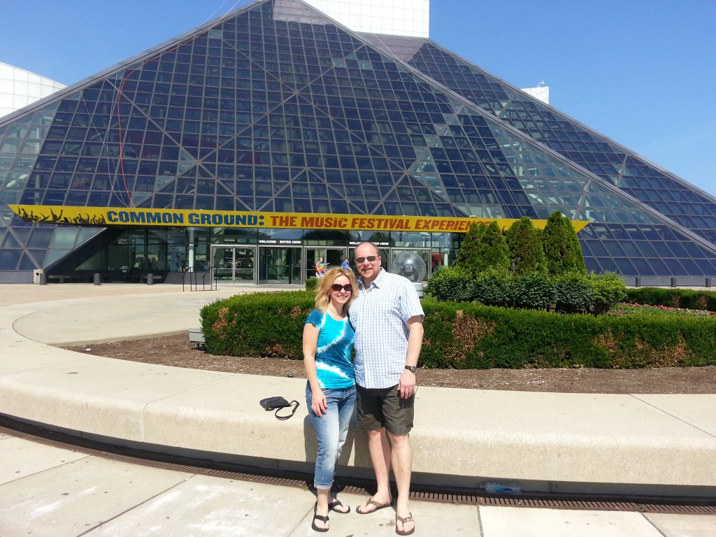 Michelle Stimpson & Bill Stimpson_Rock and Roll Hall of Fame