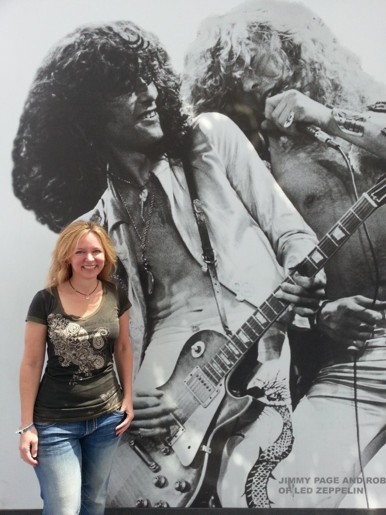 Michelle Stimpson_Rock and Roll Hall of Fame Museum