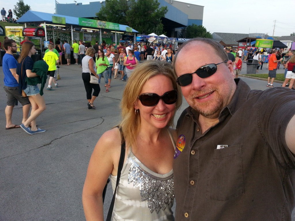 Bill Stimpson & Michelle Stimpson_Journey & Steve Miller Band Concert