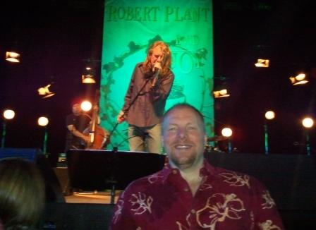 Bill Stimpson_Robert Plant concert