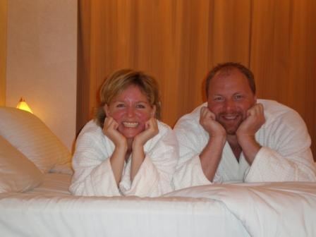 Michelle Stimpson & Bill Stimpson_Cabin Bedtime