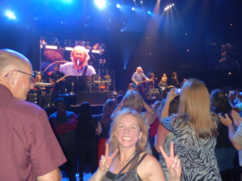 Michelle Stimpson_Barry Gibb concert