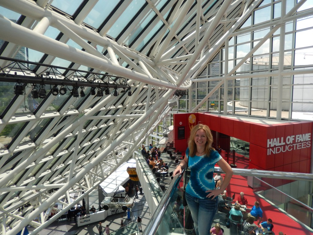 Michelle Stimpson_Rock and Roll Hall of Fame_Cleveland