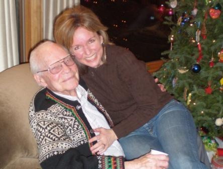 Michelle Stimpson & Grandpa
