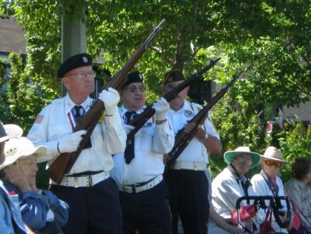 Memorial Day Gun Salute