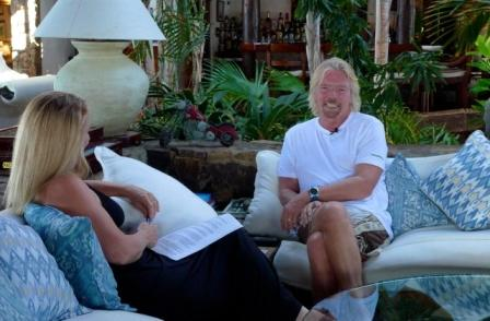 Gail Lynne Goodwin & Sir Richard Branson_Necker Island, BVI