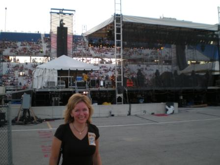 Michelle Stimpson_Backstage w/ Steve Miller Band