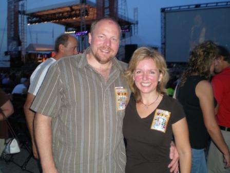 Michelle Stimpson & Bill Stimpson_Steve Miller Band Concert