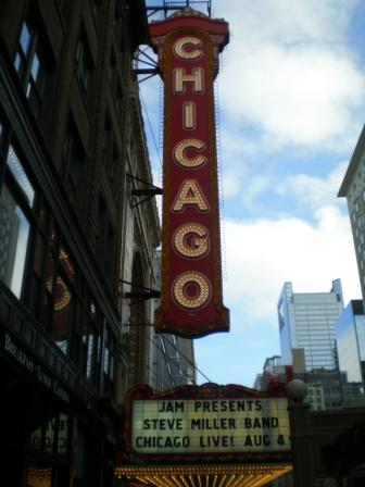 Chicago Theater_Steve Miller Band
