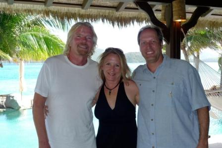 Sir Richard Branson, Gail Lynne Goodwin & husband Darryl