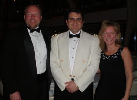 Bill Stimpson & Michelle Stimpson & Captain