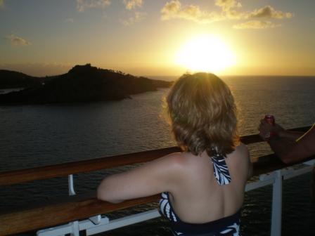 Michelle Stimpson_Cruise Sunset
