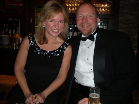 Michelle Stimpson & Bill Stimpson_Captain's Dinner Meet-up
